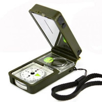 Wholesale 10 in 1 Multifunction Outdoor Survival Military Ca...