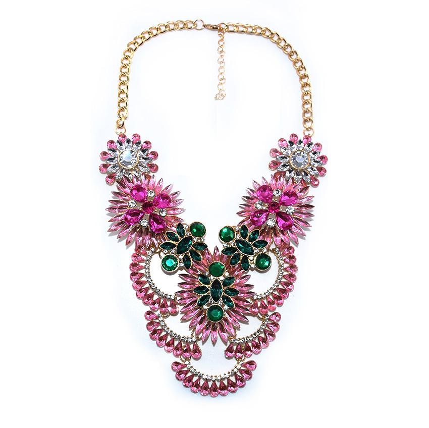 New Gorgeous Jewelry Luxury Z Brand Maxi Colar Cry...