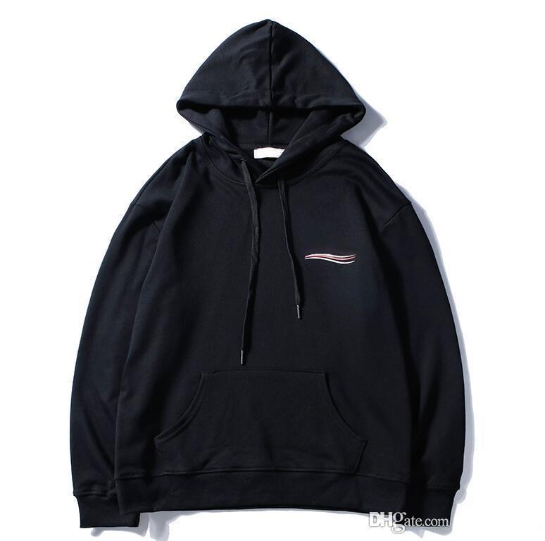 2020 New Mens Clothing Homme Hooded Sweatshirts Mens Women Designer Hoodies High Street Supremo Print Hoodies Pullover Winter Sweatshirts