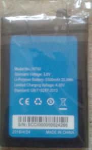 Batteria al 100% originale HT50 Batteria 5500mAh sostitutiva HOMTOM HT50