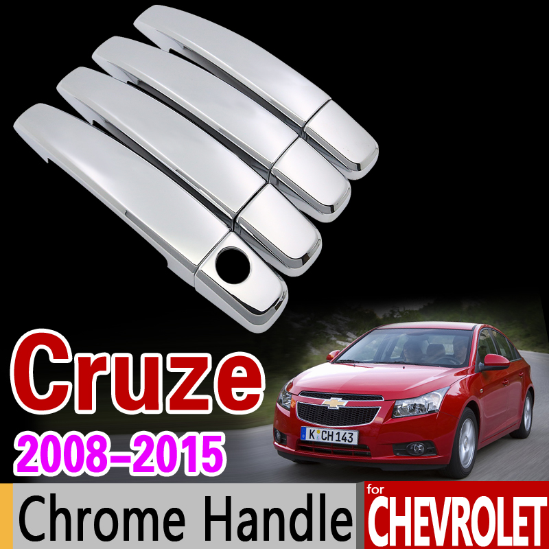 Chrome Side Door Handle Cover Fit for Chevy Cruze 2010 2011 2012 2013 2014 2015