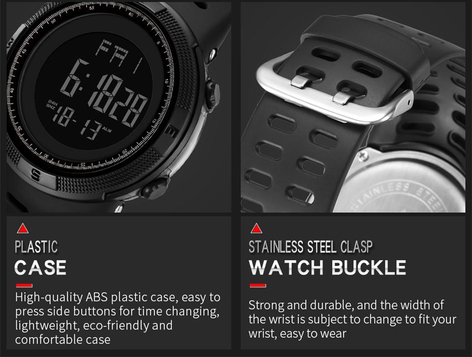 Sports Watch Men Digital Electronic Wrist Watch Waterproof LED Fitness Outdoor Watch For Running Chronograph Wristwatch Relojes (14)