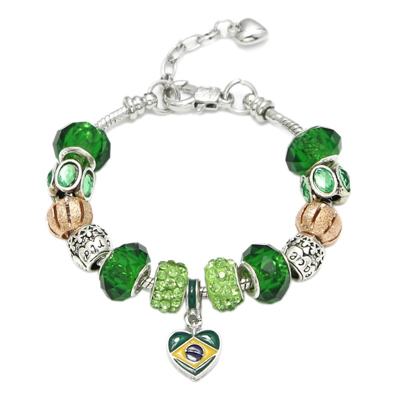 2pcs naturel grade A Jade Bouddha Charme Velours Rouge Bracelet jadéite