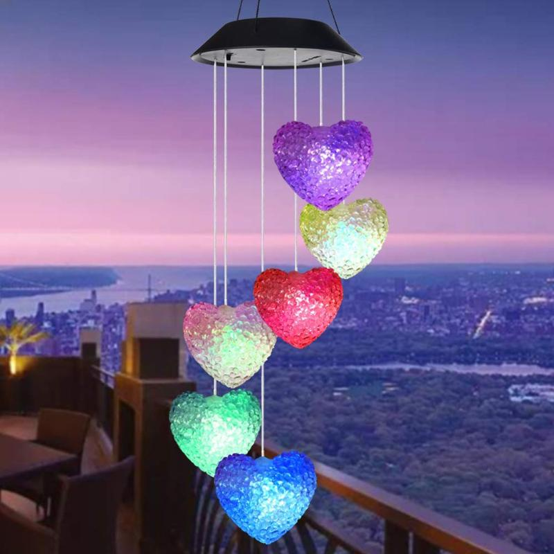 Blue Hanging Solar Balloon lantern Light