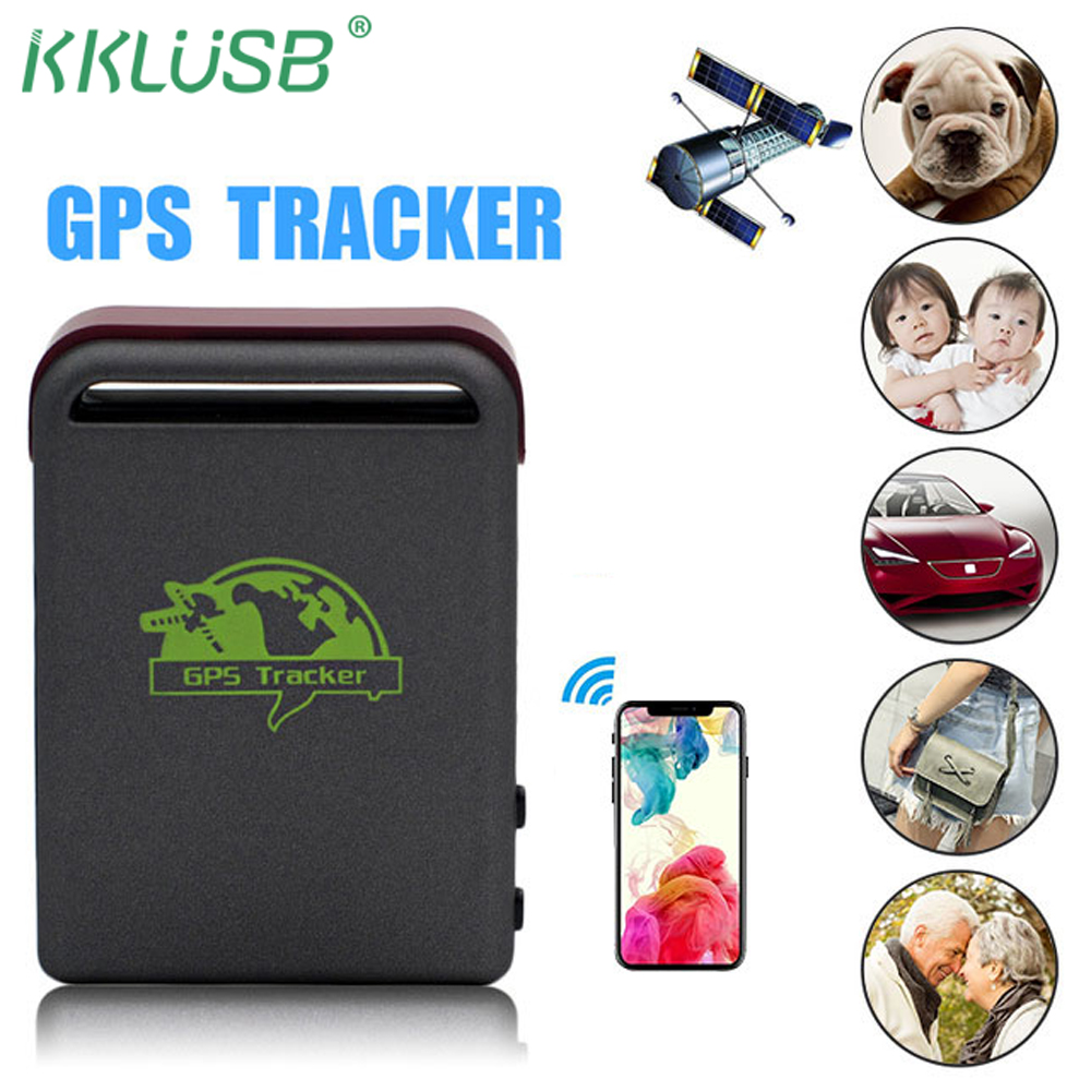 KingNeed T630 4 in 1 Micro Size GPS GSM Tracker GPS Locator Online Real-time Tracking Device for Car//Bike//Kid Elder//Pet