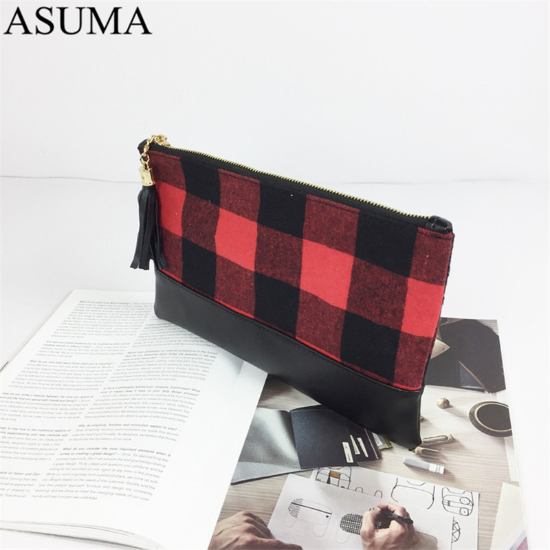 plaid canvas clutch (14)