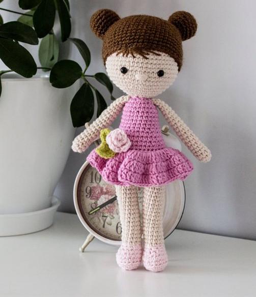 Boneca de crochê: +40 ideias com amigurumi fantásticas ... | 584x503