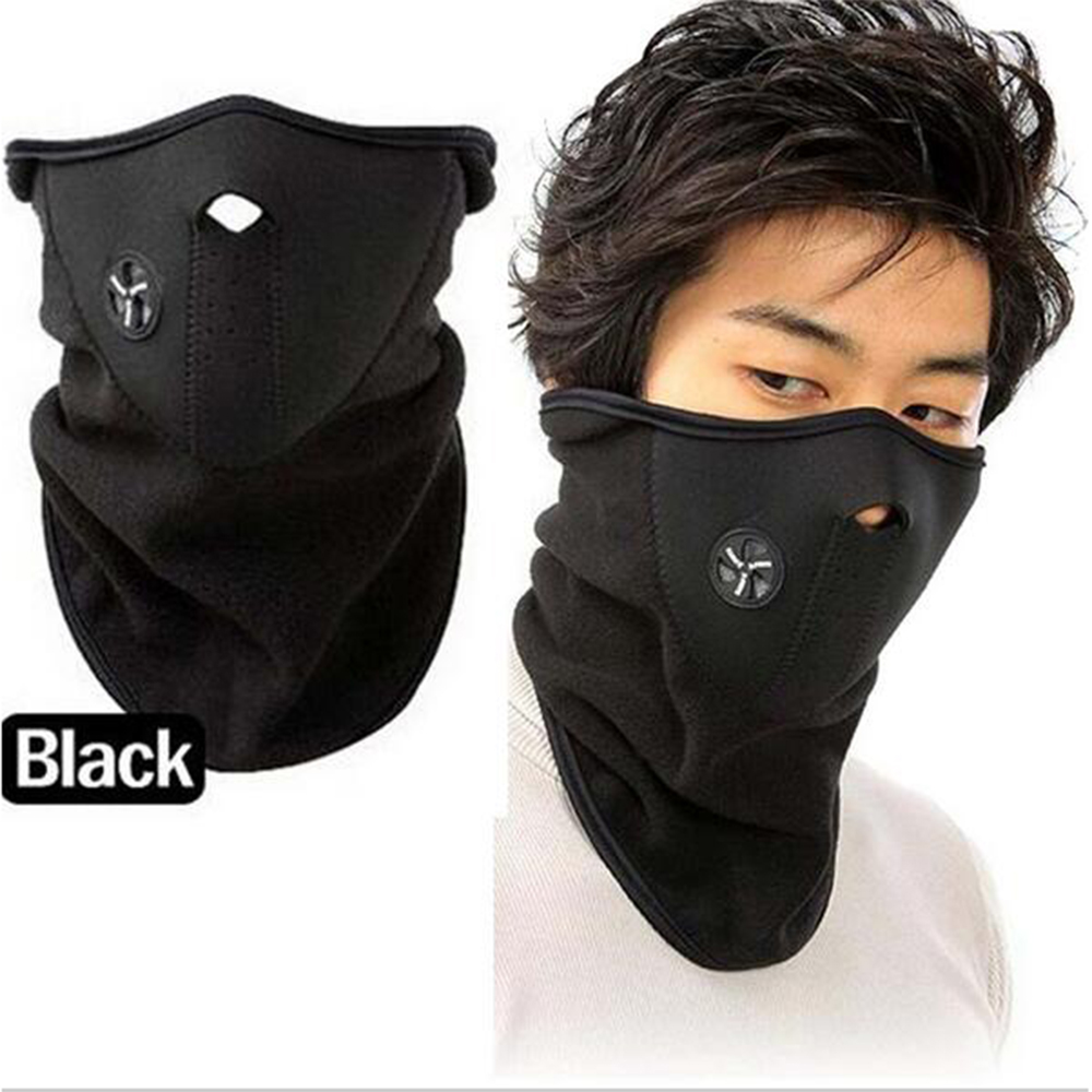 Unisex Outdoor Cycling Half Face Mask Winter Windproof Ski Motorcycle Neck Warm