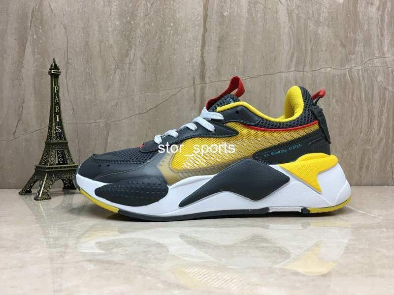 RS RS-X Reinvention игрушки мужские кроссовки бренд-дизайнер Hasbro трансформаторы повседневная женская rs x дизайнер кроссовки 36-45