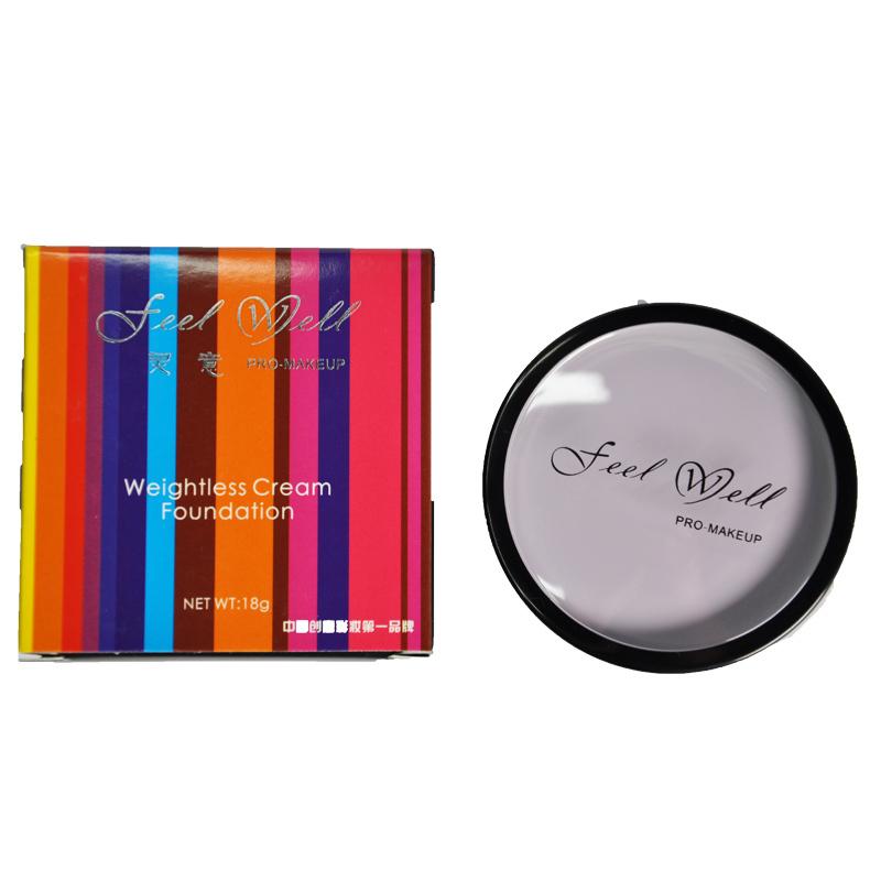 Feel Well Professional Concealer Cream Face Eye Lip Makeup Bronzer Primer Invisible Pore Wrinkle Cover Concealer 18g Face Makeup