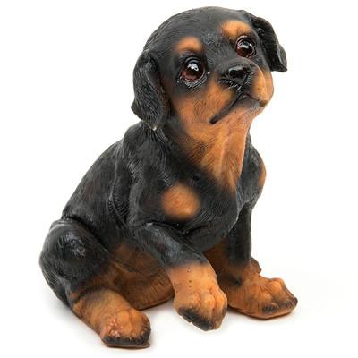 1//4Pcs Cute Scarf Dog Puppy Miniature Doll Model Landscape Furnishing Home Soft