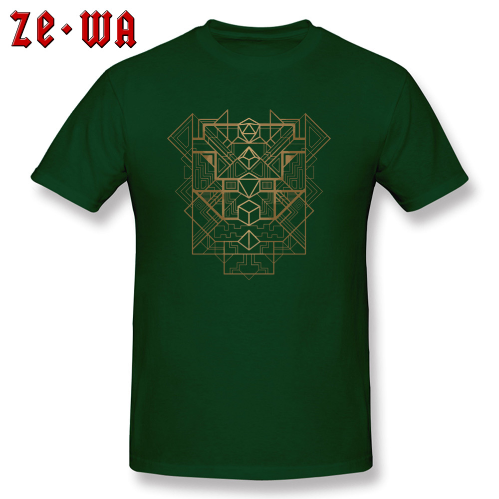 Dice Deco Gold 2034 T Shirts Fashion Short Sleeve Normal 100% Cotton Round Neck Men Tees Casual Sweatshirts Autumn Dice Deco Gold 2034 dark