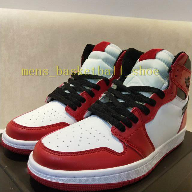 Mens Basketball Shoe 2019 Og Bred Shattered Backboard Shadow Multicolor Reverse Hook 3 1s High Og Ts Sp Outdoor Sneakers Black Whie