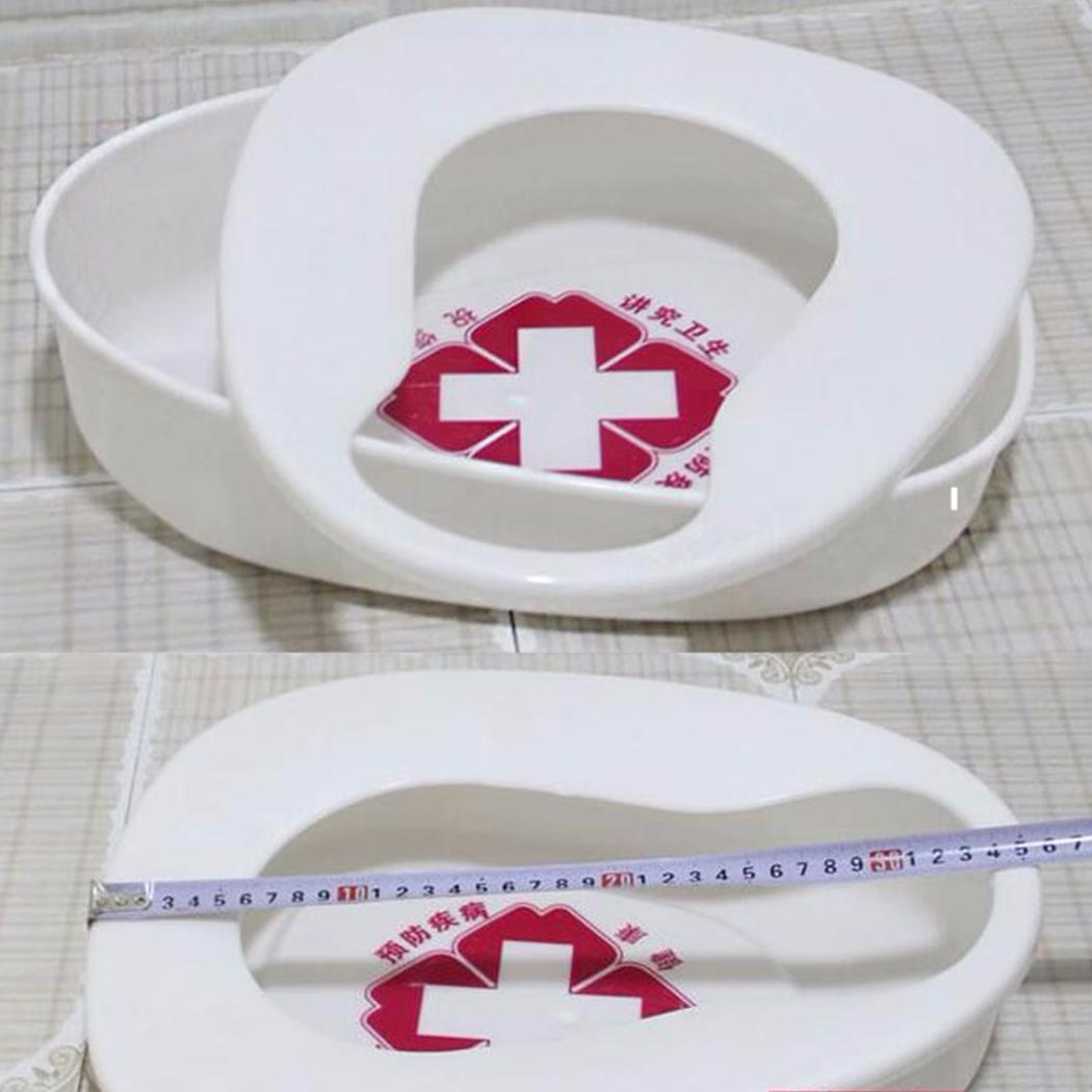 Fashion New Hospital Potty Detachable Plastic Toilet Bedridden Patients Elderly Urine Pot New Other home and garden supplies