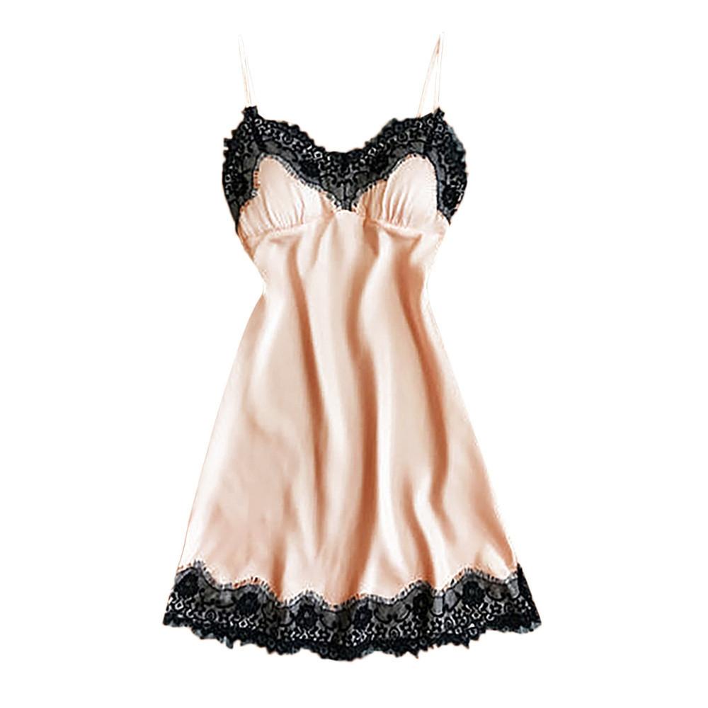 Hot Porno Babydoll Sexy Lingerie Plus For Women Exotica Ropa Sleepwear Erotic Stain Nightwear Underwear Sexy Dress For Sex D3 T190711