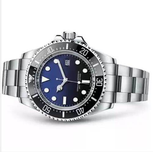 New 116660 43MM Dial Ceramic Bezel Black Watch Adjustable Strap Automatic Movement Sports Watch Sea Dweller Red Green Blue Watch Coupon