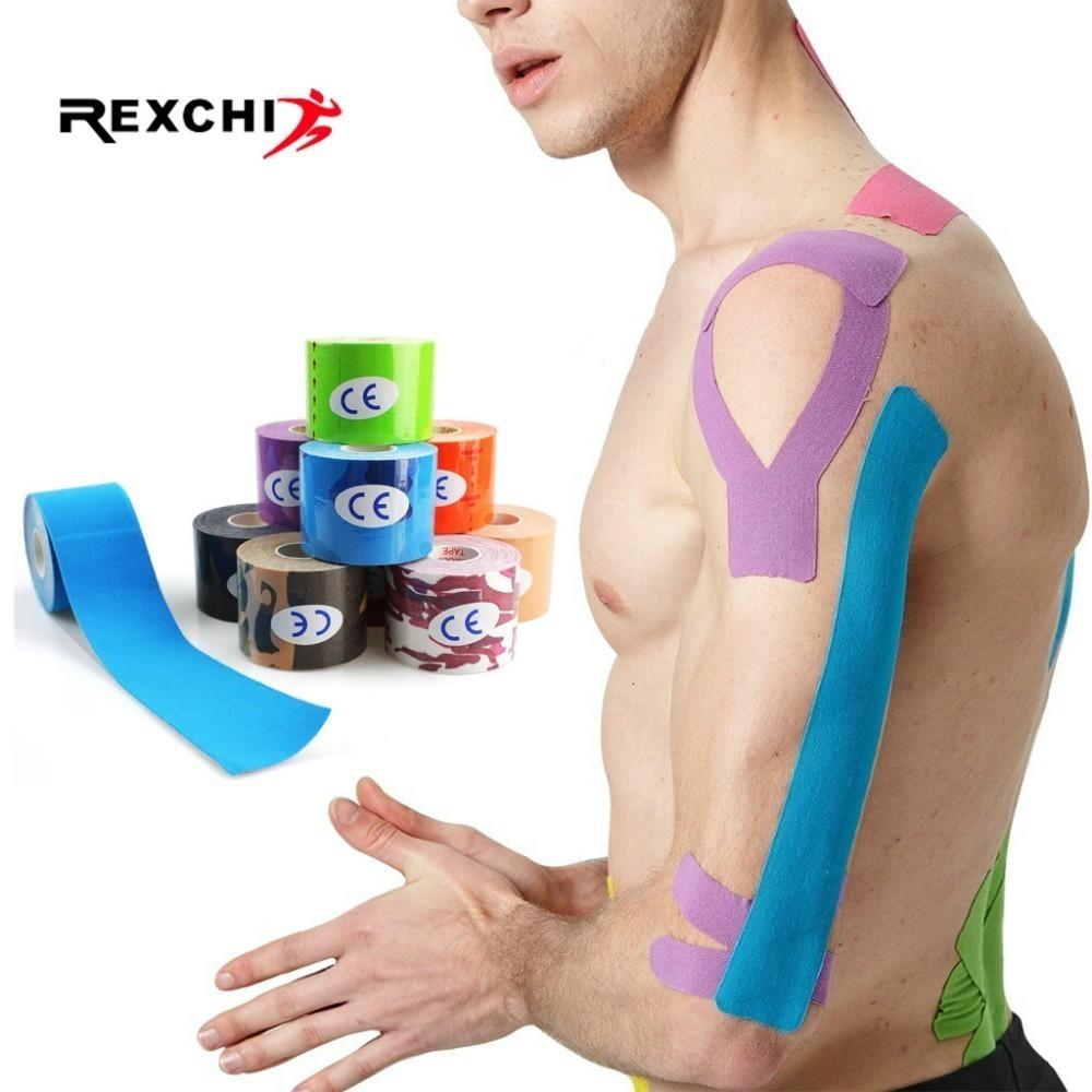Sporttape flexible 5 cm 5 M Fitness Tape étanche compétition Training Gym Sport
