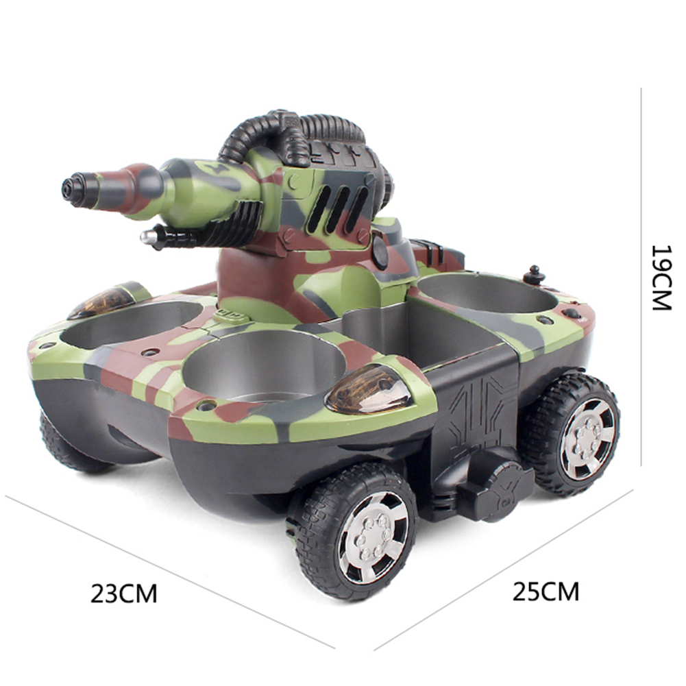 Boy 39 S Toy Rc Tank Electrically Driven Toy Tank Remote Control Toy Rc Car Shooting Target Water Jet Projectile Play In Water Land Rc Cars For Kids Best Remote Controlled Cars From Windstore