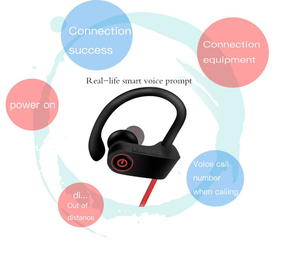 9 U8-Stereo-Wireless-earbuds-Active-Noise-Cancelling-Bluetooth-Headphones-BT-4-2-Waterproof-Headphone-Earphone