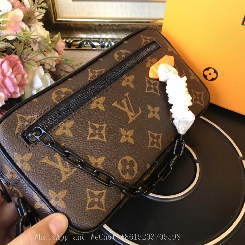 Marca de moda Bolsas de diseñador de lujo Bolsas clásicas de diseño para mujer caliente La última bolsa para cámara hecha de piel de becerro