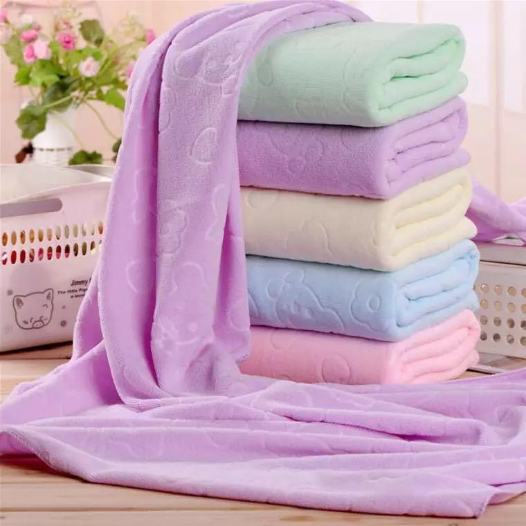 New Absorbent Microfiber Beach Swimming Bath Towel Washcloth 70*140cm Swimwear