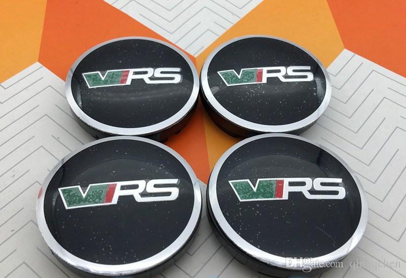 56mm for Skoda VRS 5JA601151A NEW logo car emblem Wheel Center Hub Cap Auto Wheel badge covers for Octavia Fabia Superb