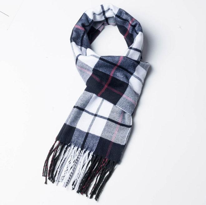 m/änner ist klassisch Karierten schal,Schwarze und graue Streifen schal Winter Winter und Herbst Dicker schal m/änner warme m/änner
