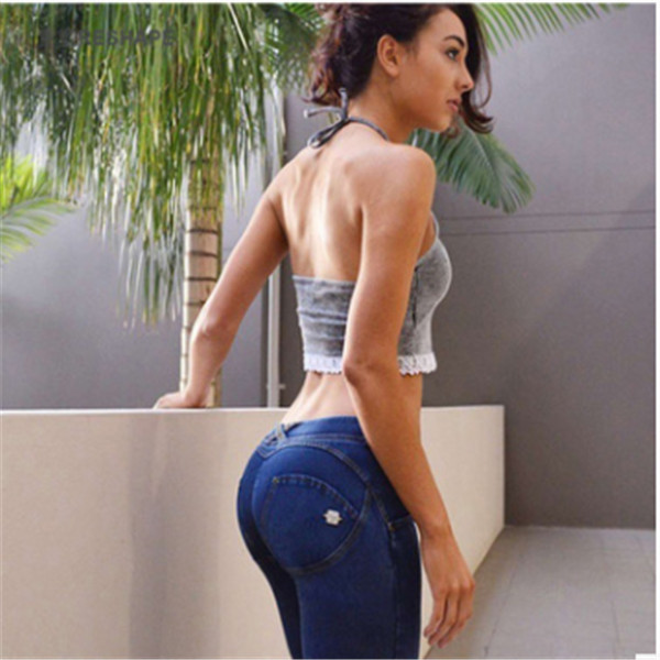 Casual Push Up Women Leggins Low Waist Washed Jeans Leggings Skinny Workout Jeggings Pencil Pants Denim Legging For Women (6)