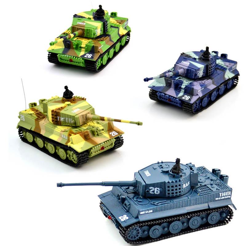 1:72 funkfernbedienung mini rc deutsch militär tiger tank 14 kanal kunststoff sound spielzeug kinder weihnachten / neujahr geschenke