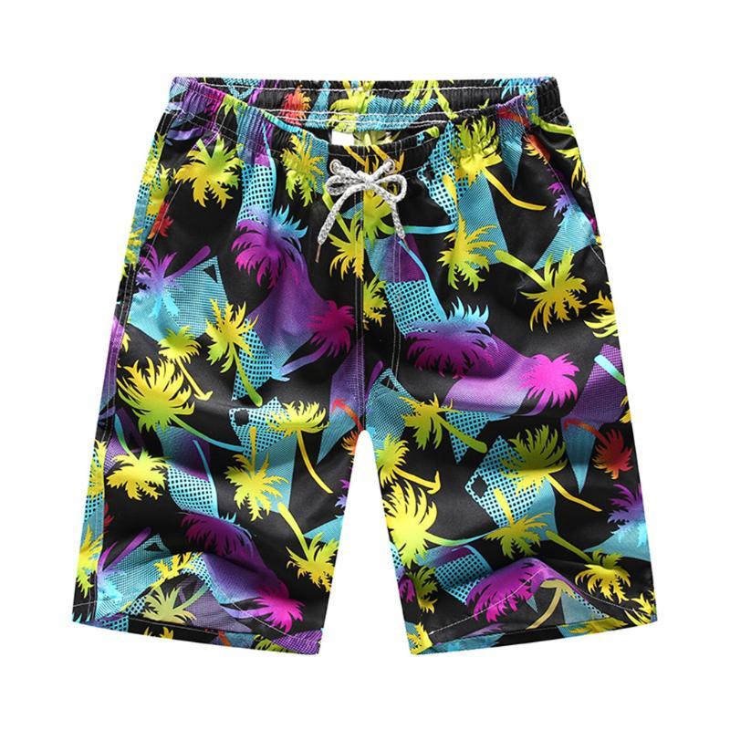 Mens Swim Trunks Woodland Gnomes Beach Board Shorts Quick Dry Sports Running Swim Board Shorts with Pockets Mesh Lining