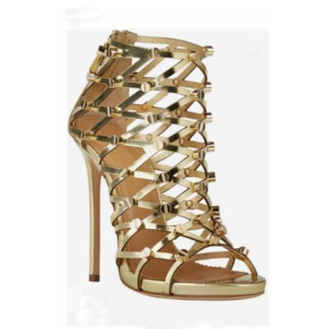 Wholesale Sexy Gold Prom Shoes - Buy