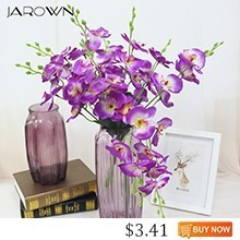 JAROWN-Artificial-5-Branch-Phalaenopsis-Simulation-Silk-Orchid-Fake-Flowers-Wedding-Decorations-Home-Office-Desktop-Decor