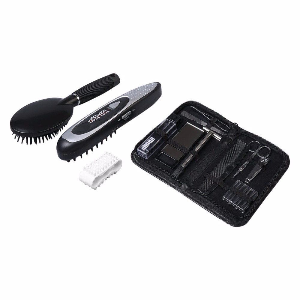 Home Use Laser Massage Comb Equipment For Hair Growth Regrowth Treatment Hair Thickening Strengthening Hair Loss Stop dropship
