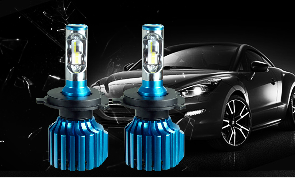 car headlight LED car lamp car head bulb (4)
