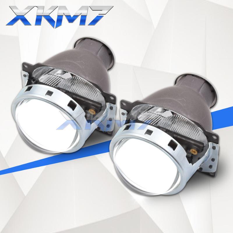 """2.5/"""" H1 Bi-Xenon HID Projektor Lens Hallo-Lo Autoscheinwerfer mit Verkleidung"""