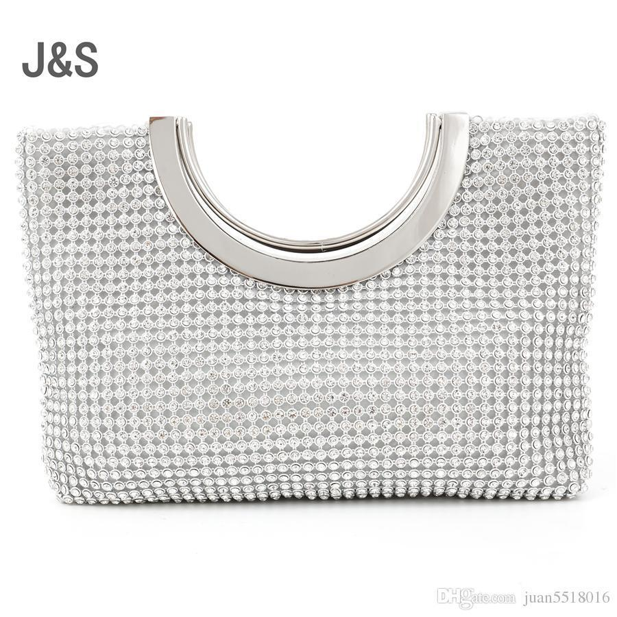 Nice Diamond-studded Handbag Evening Bag Evening Bag With A Diamond Bag Women&s Rhinestone Banquet Handbag Day Clutch Female