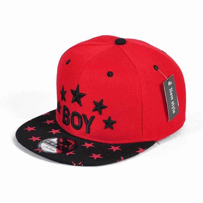 De071 Boy Letter Baby Boy Girls Hats Cool Style Baseball Cap Children Boy For Spring Autumn Hip-pop Sun Hat For Travel School J190528