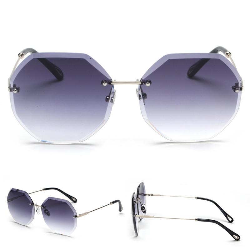 Octagon Sunglasses Women Fashion detaail (8)