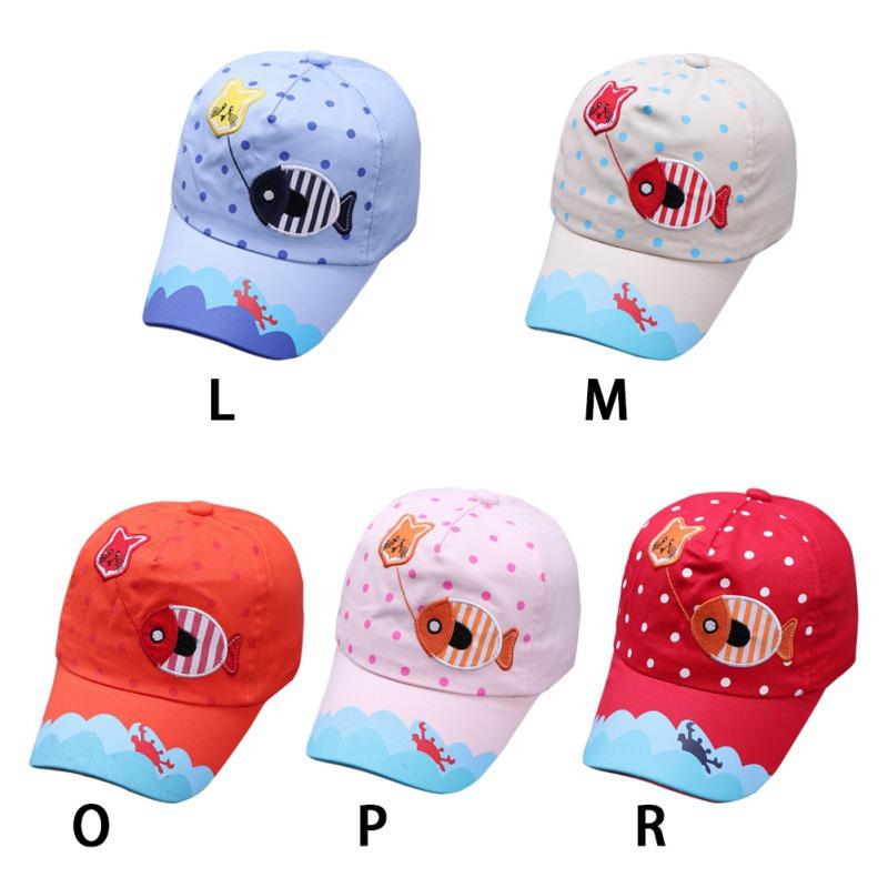 Infant Baby Kids Hats Boys Girls Comfortable Bongrace Hat Sports Sun Peak Caps