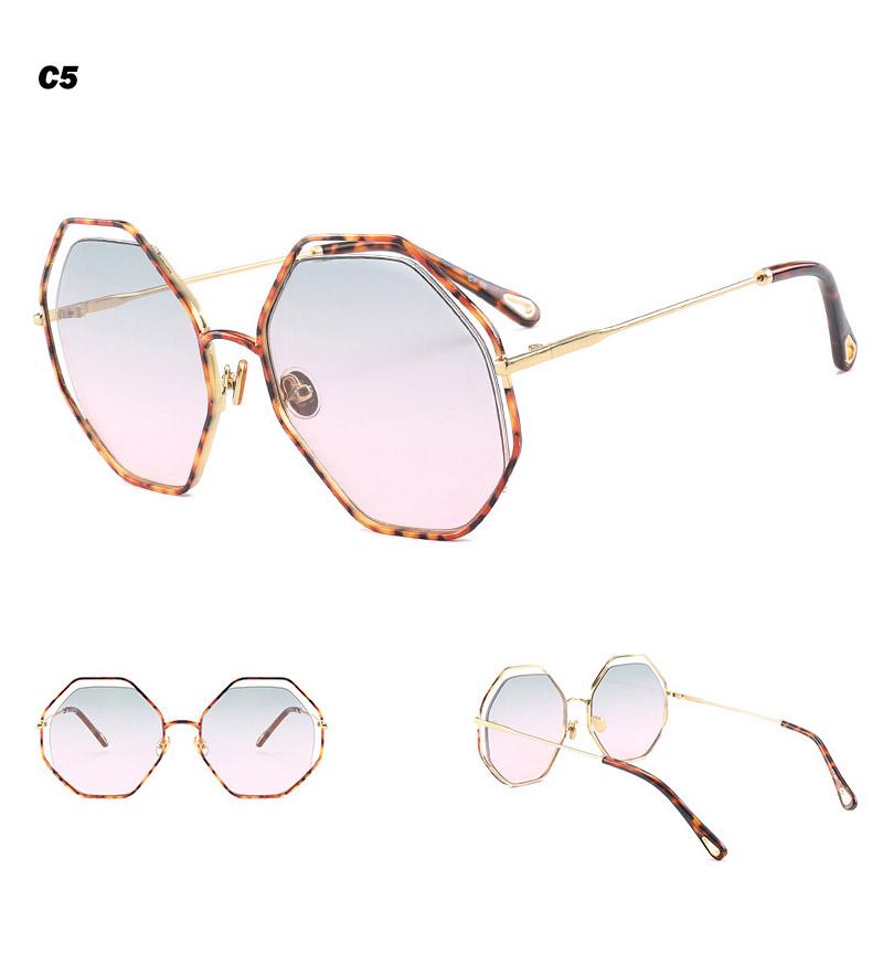 2018 News Goggle Rimless Sunglasses (16)