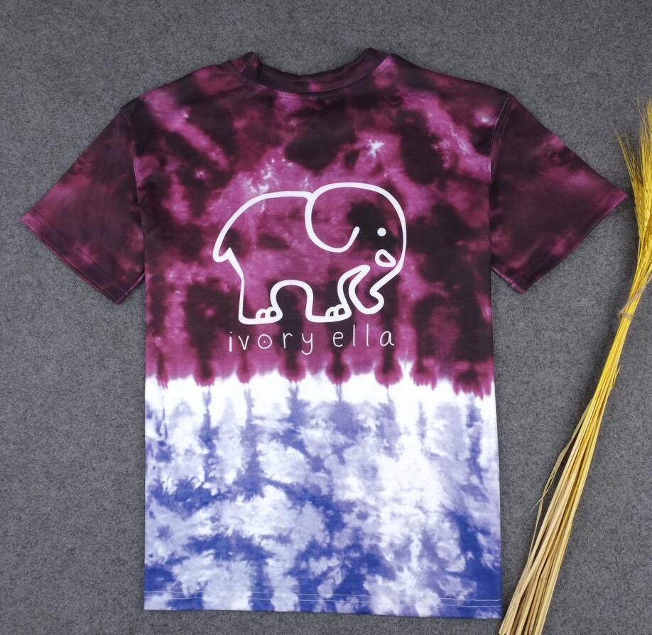 Scegli i tuoi colori! T-shirt donna con elefanti di Salvador Dalì