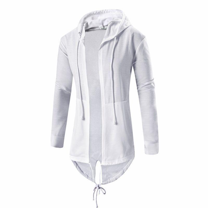 Mens Hooded Hoodie Sweatshirts Fashion Hip Hop Mantle Hoodies Jacket Long Sleeve Cloak Male Coat Outwear Moleton Masculino