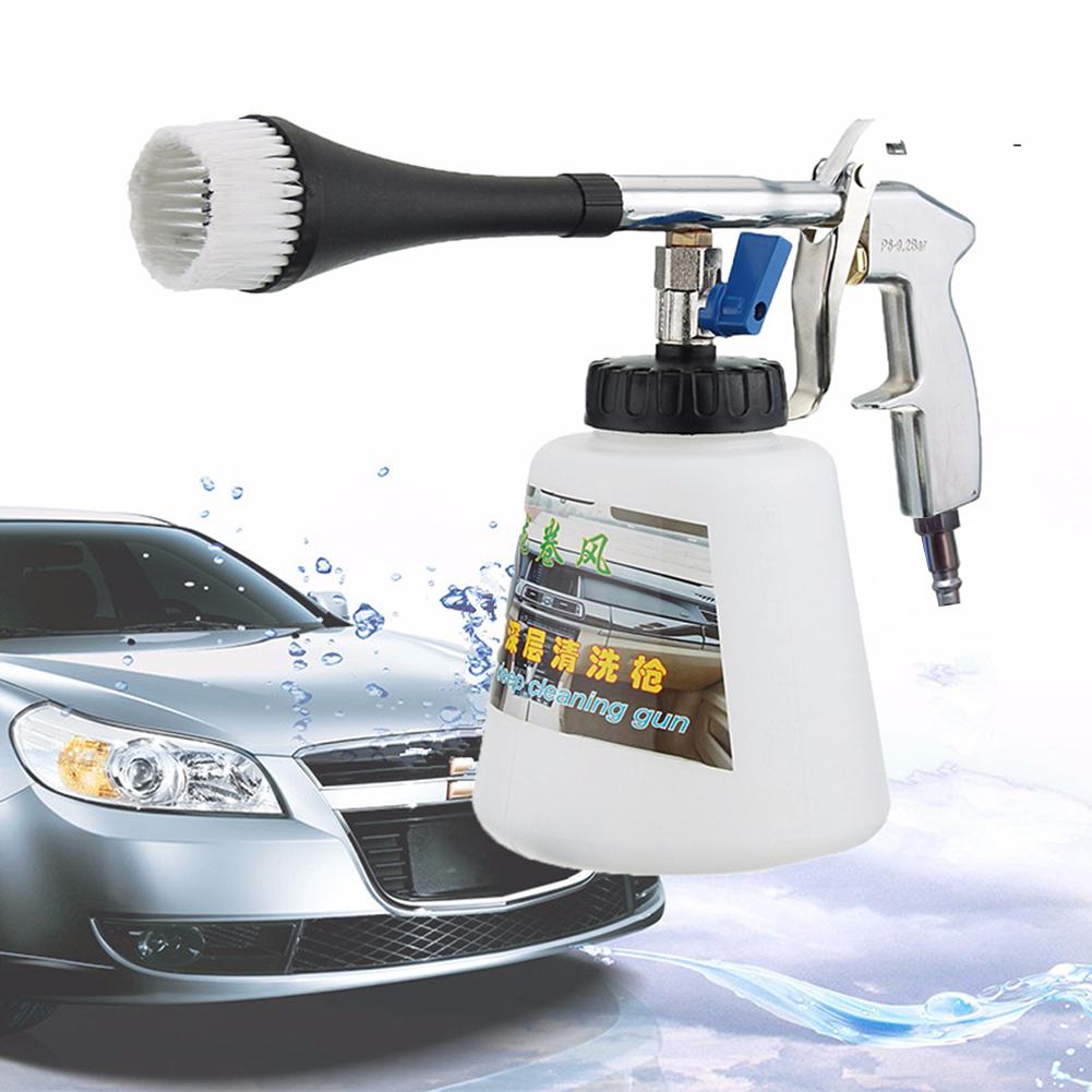 Autowäsche für Tornador Washer Innenreinigungsmaschine Schlagstaub Tief Reinigungspistole EU / US Stecker Mit Bürste Hochdruck