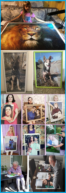 Diamond Painting Photo Custom Buyer Show