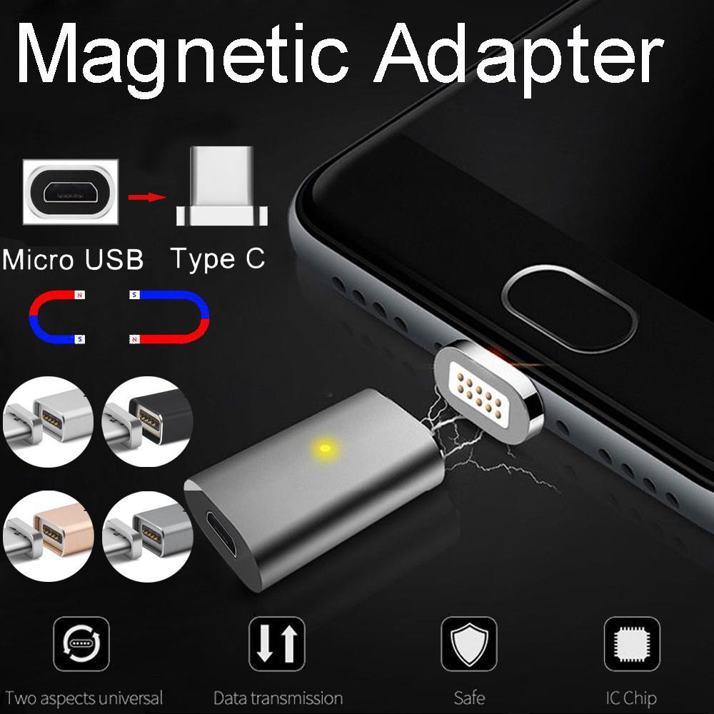 Magnetischer Typ-c Schnellladeadapter für Samsung Galaxy Note 8 S8 / s8 + Xiaomi Meizu Huawei, HTC Y20