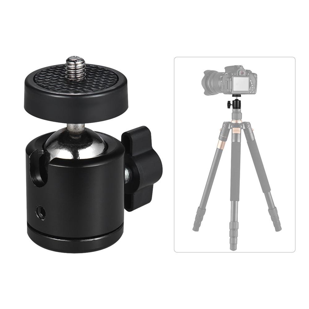 Adattatore in metallo a vite per treppiede per fotocamera monopiede testa a sfera Mount accessori della fotocamera