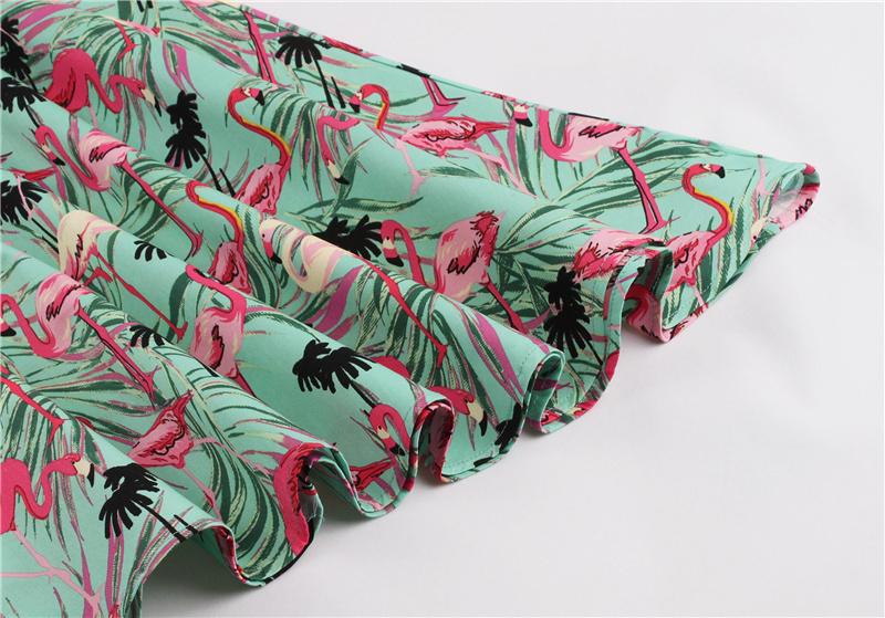 Kostlish 9 Style Print Summer Dress Women 2017 Sleeveless Swing 1950s Hepburn Vintage Tunic Dress Elegant Party Dresses Sundress (61)