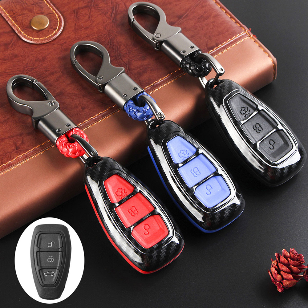 FORD C-MAX FOCUS REMOTE FOB KEY CASE SHELL RUBBERS