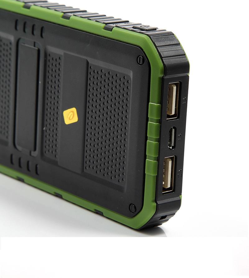 Charge d'énergie solaire Precious Extérieur Portable énergie solaire Déplacer l'alimentation d'énergie Ipad Charge de téléphone portable Precious