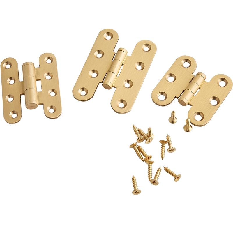 lot de 4 bo/îte cadeau plans de travail BE-TOOL Charni/ère invisible en cuivre pur pour bo/îte /à bijoux or
